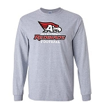 AHS Football - Long Sleeve T-shirt with Logo (3 Colors Available)